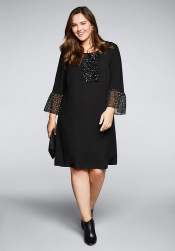 Трикотажное платье Sheego