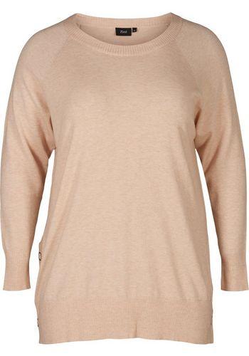 Пуловер Zizzi