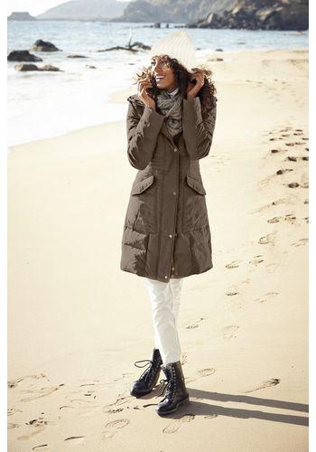 Пуховое пальто heine
