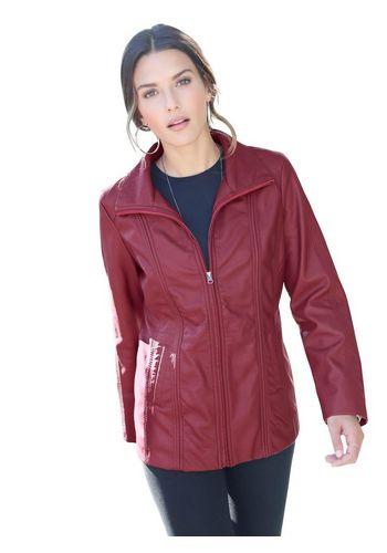 Куртка из искуственной кожи Classic Basics
