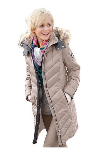 Стеганое пальто Casual Looks